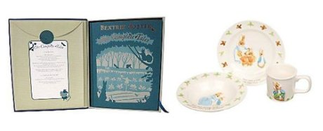 Beatrix Potter's Collected Tales and Peter Rabbit gift set, from John Lewis