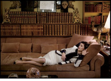 Audrey Tautou as Coco Chanel in the new release, Coco before Chanel