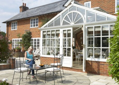 A conservatory is great for summer and adds value to property - if it isn't bulldozed...