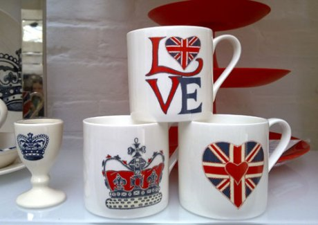 The Heal's Christmas range includesa selection of Union Jack gifts