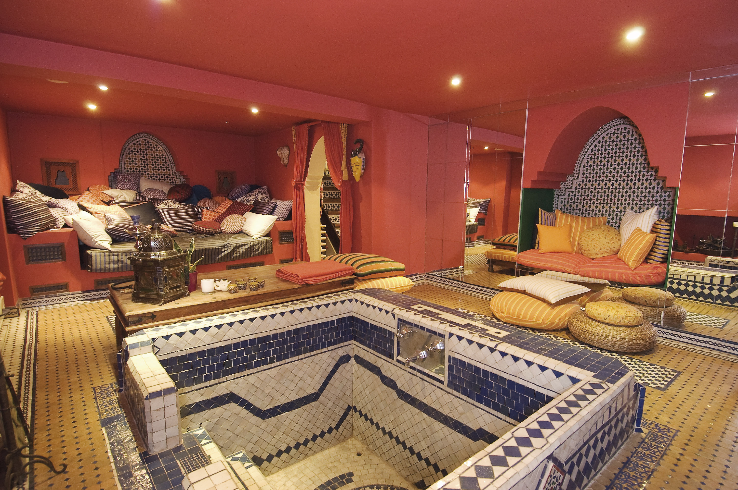 Moroccan Basement | My Future Home | Pinterest | Basements, Oasis And  Moroccan