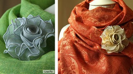 Linen-brooch-and-scarf-from-Linenme