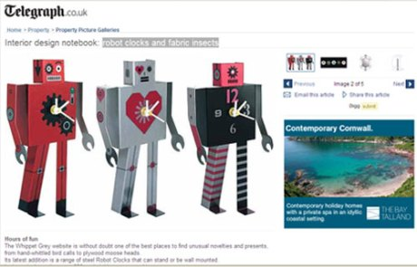 Robot-clocks-credit-The-Telegraph