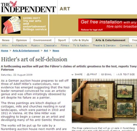 Todays-news-Hitler's-art-at-auction-credit-The-Independent