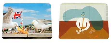 Ella-Doran-placemats-credit-Martin-Parr-and-Magnum-left-and-Peter-McDonald-right-