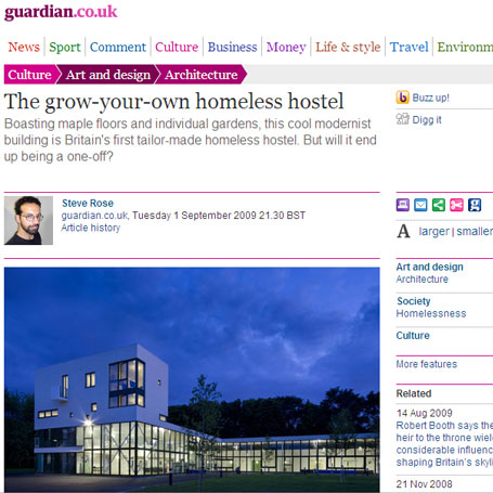Todays-news-luxury-homeless-hostel-credit-The-Guardian