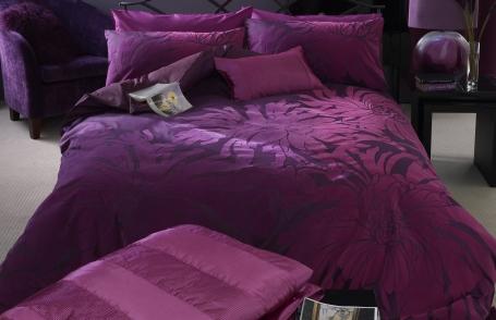 fuschia bedding