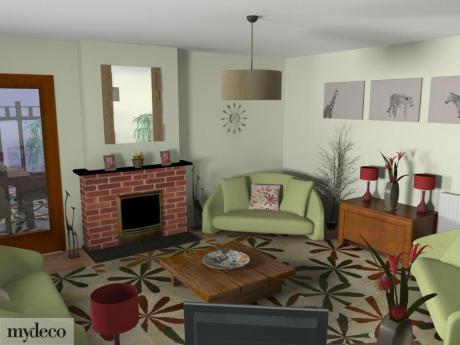 Room rescue week 6 Lisa R's design