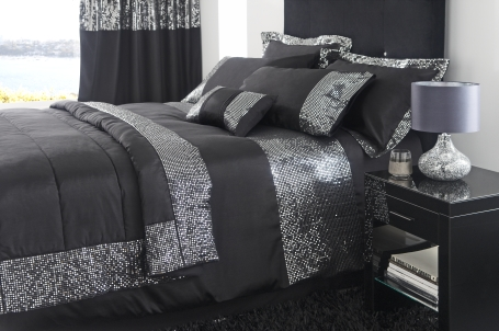 silvers sequin bedding