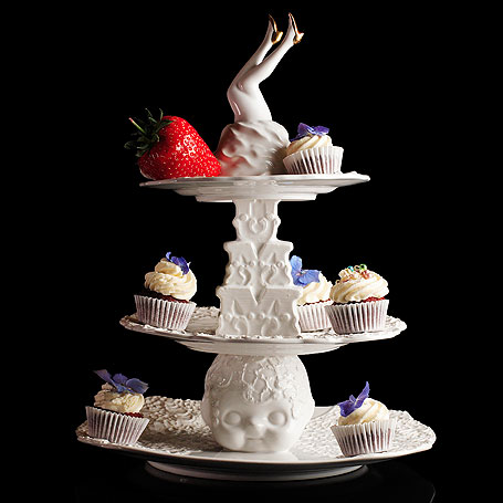 chic cakestand by Undergrowth Design at design boutique