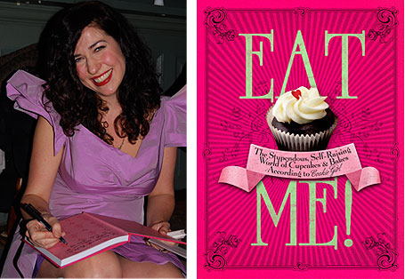 Cookie Girl and her new cupcake book