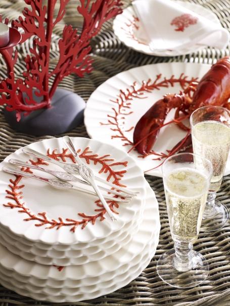 Coral plates OKA