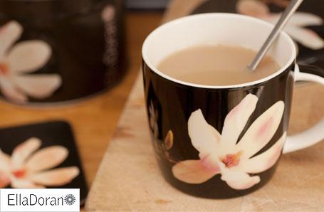 Ella Doran Magnolia mug and tea