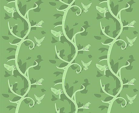 Richard Brownlie-Marshall's Stalk wallpaper design